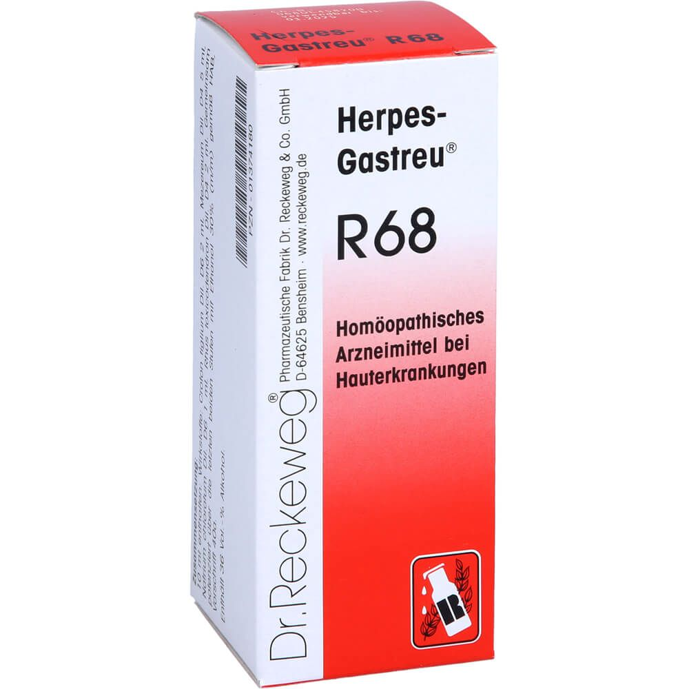 HERPES-GASTREU R68 Tropfen zum Einnehmen
