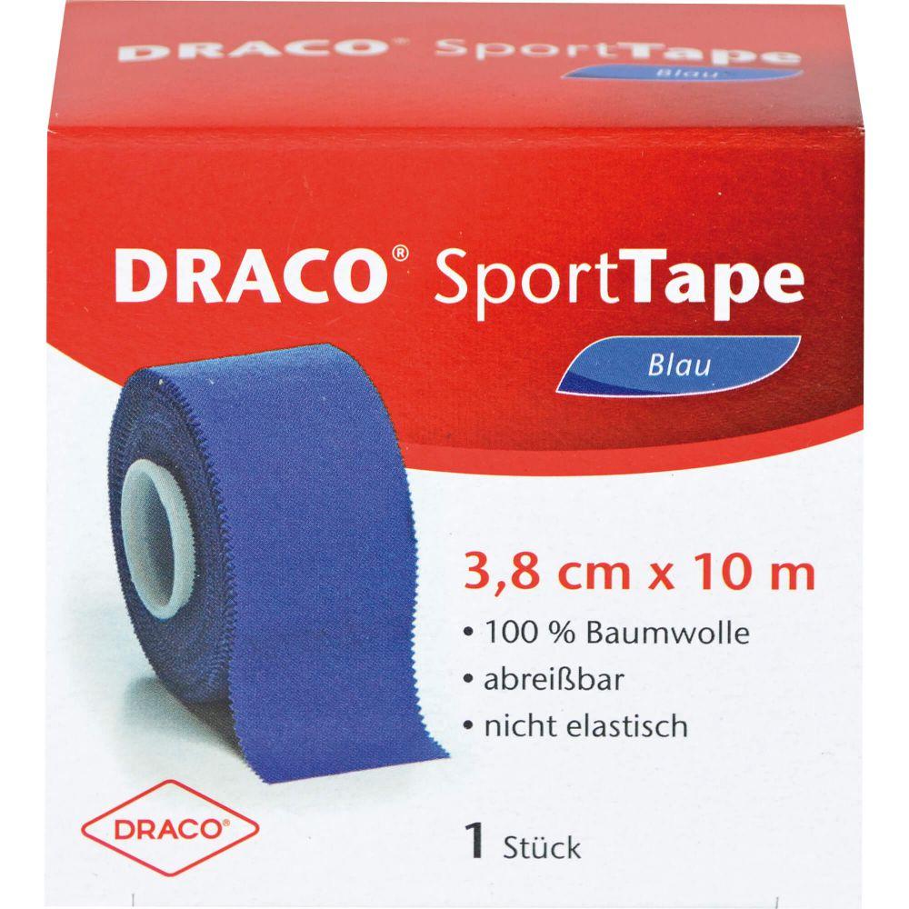 DRACO TAPEVERBAND 3,8 cmx10 m blau