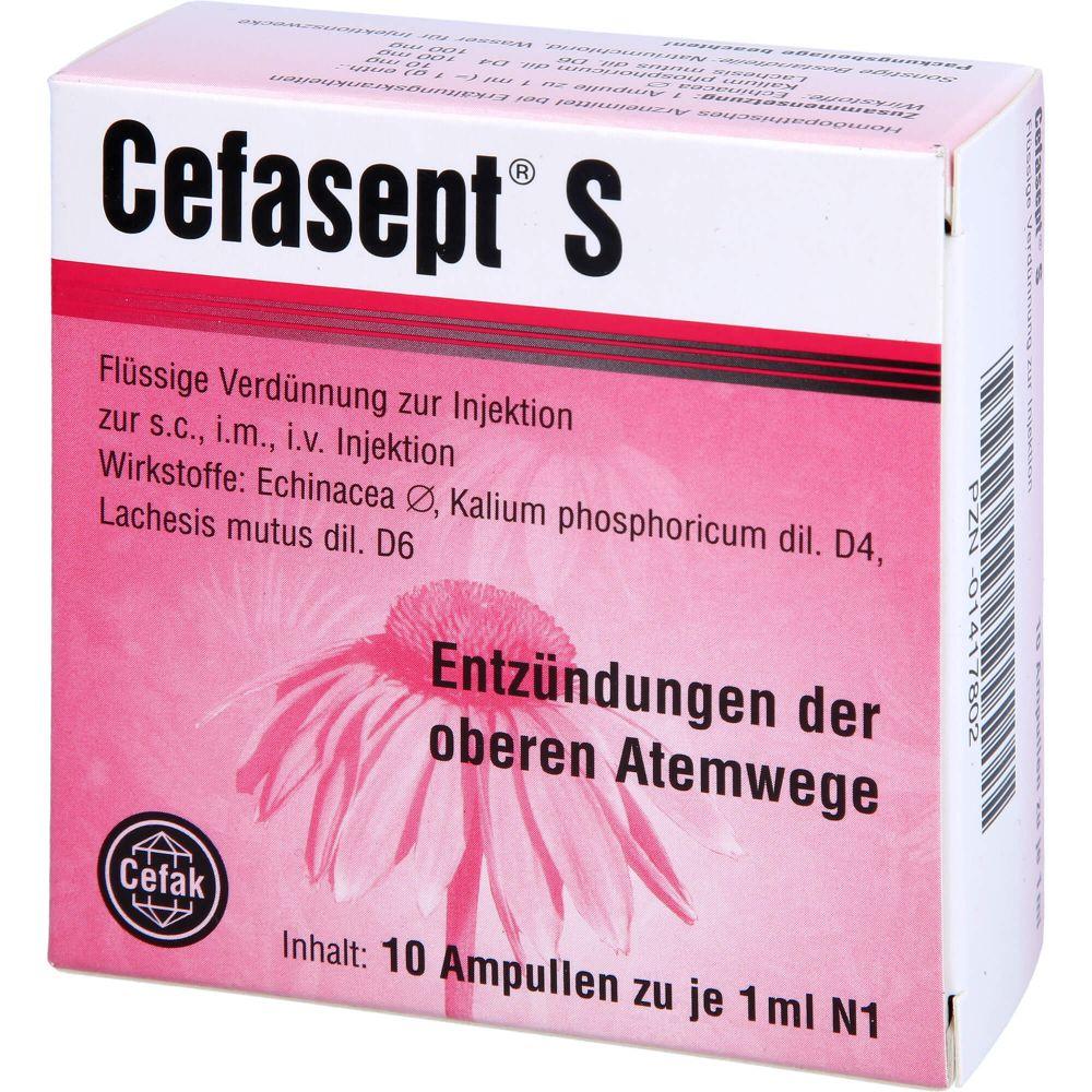 CEFASEPT S Injektionslösung