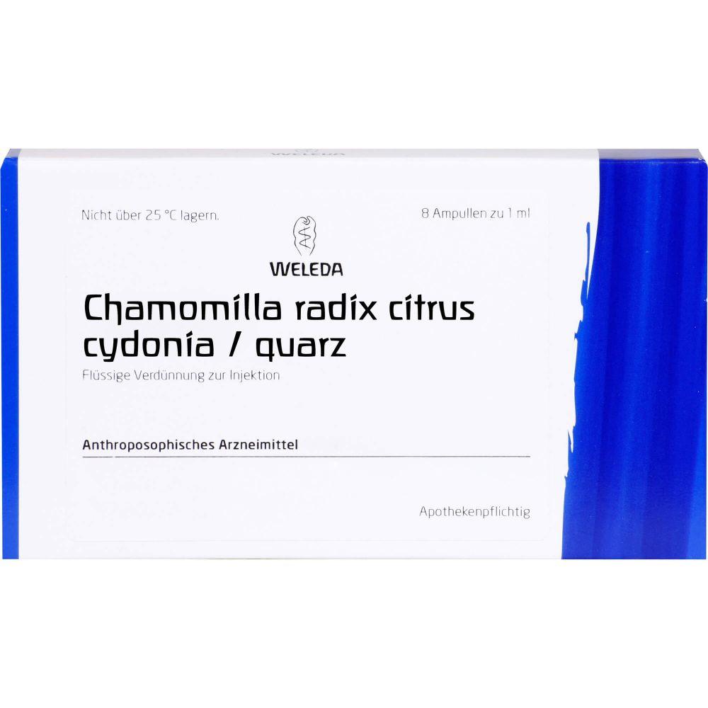 CHAMOMILLA RADIX Citrus Cydonia/Quarz Ampullen