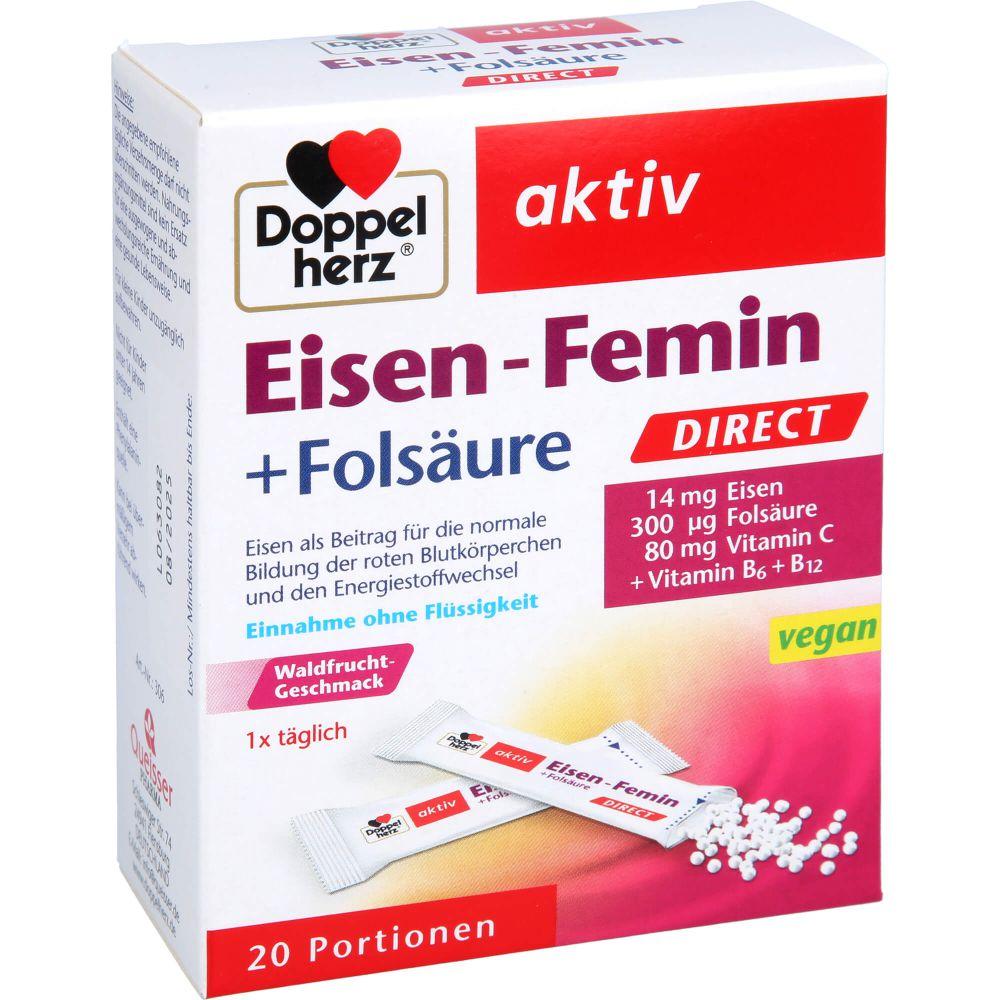 DOPPELHERZ Eisen-Femin DIRECT Pellets