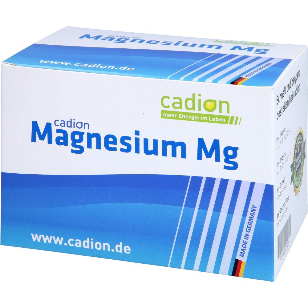 CADION Magnesium Mg Granulat Beutel