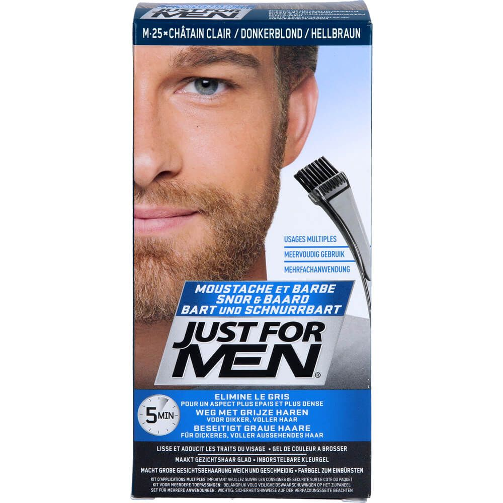 JUST for men Brush in Color Gel hellbraun