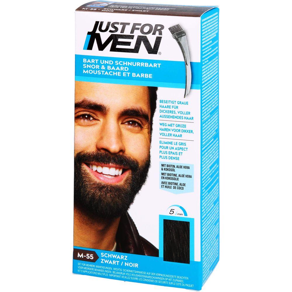 JUST for men Brush in Color Gel schwarz