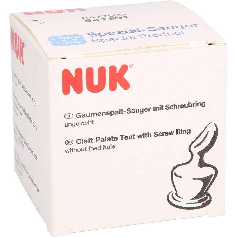 NUK Gaumenspaltsauger f.Standard/Schraubfl.ungel.