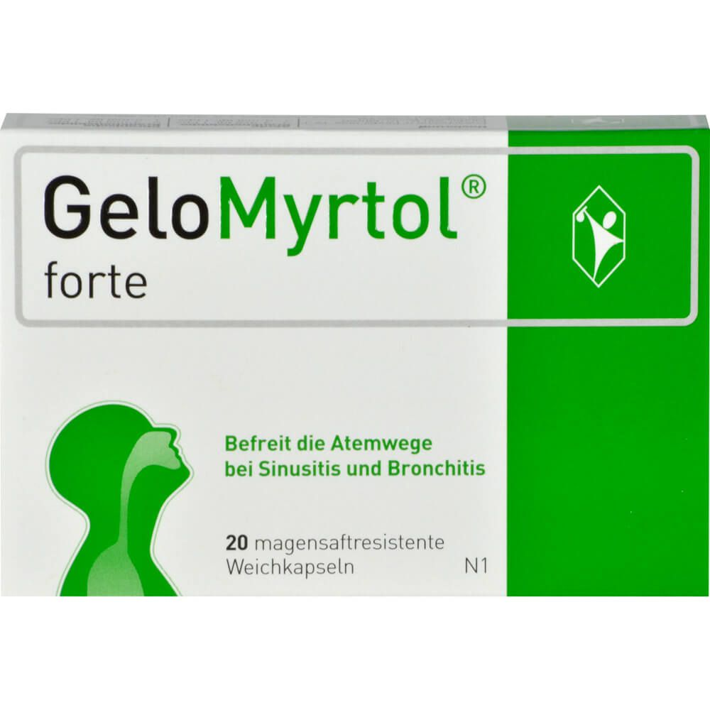 GELOMYRTOL forte magensaftresistente Weichkapseln