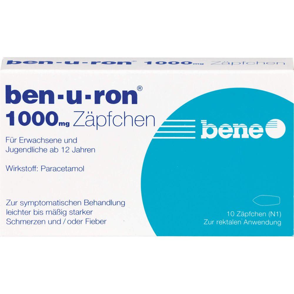 BEN-U-RON 1.000 mg Suppositorien