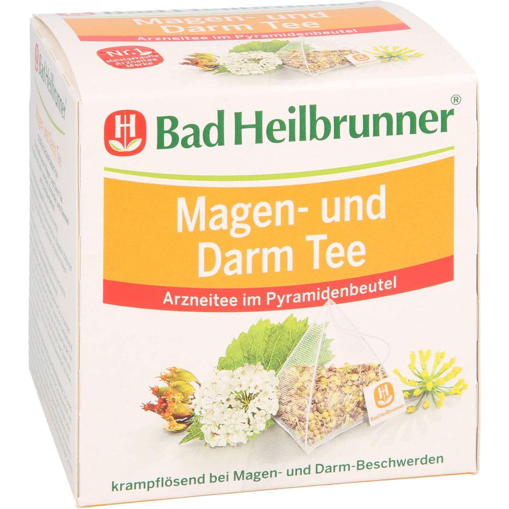 BAD HEILBRUNNER Magen- und Darm Tee Pyramidenbtl.