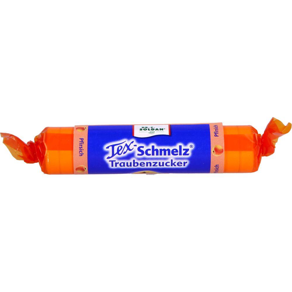 SOLDAN Tex Schmelz Traubenzucker Pfirsich