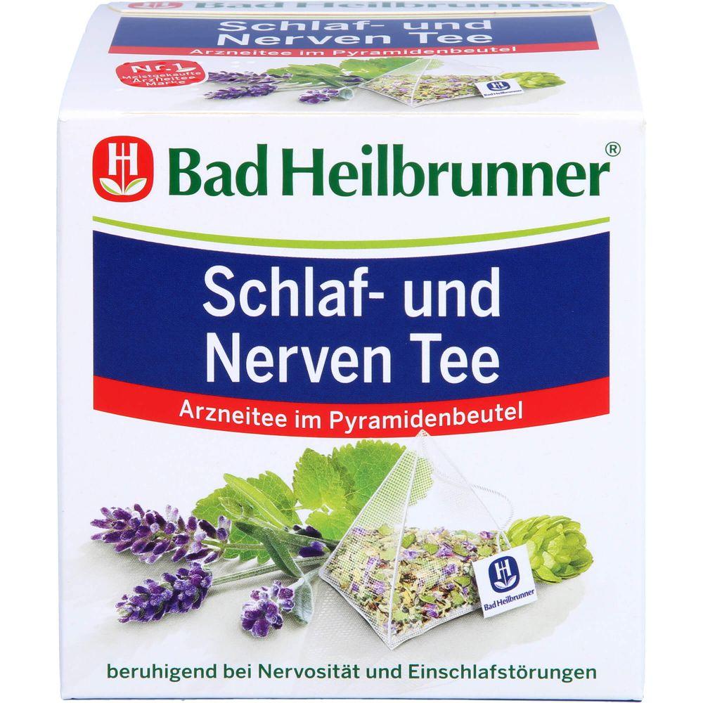 BAD HEILBRUNNER Schlaf- und Nerven Tee Pyramidenb.
