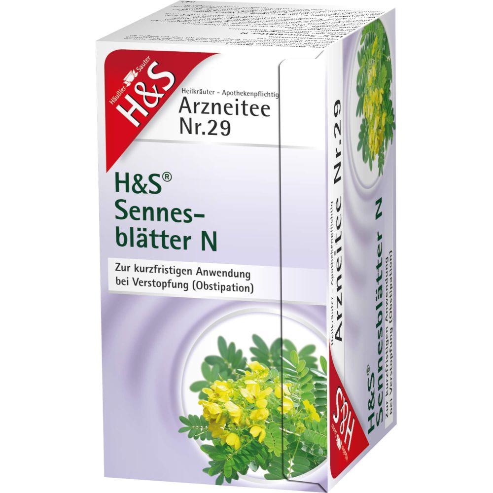 H&S Sennesblätter N Filterbeutel