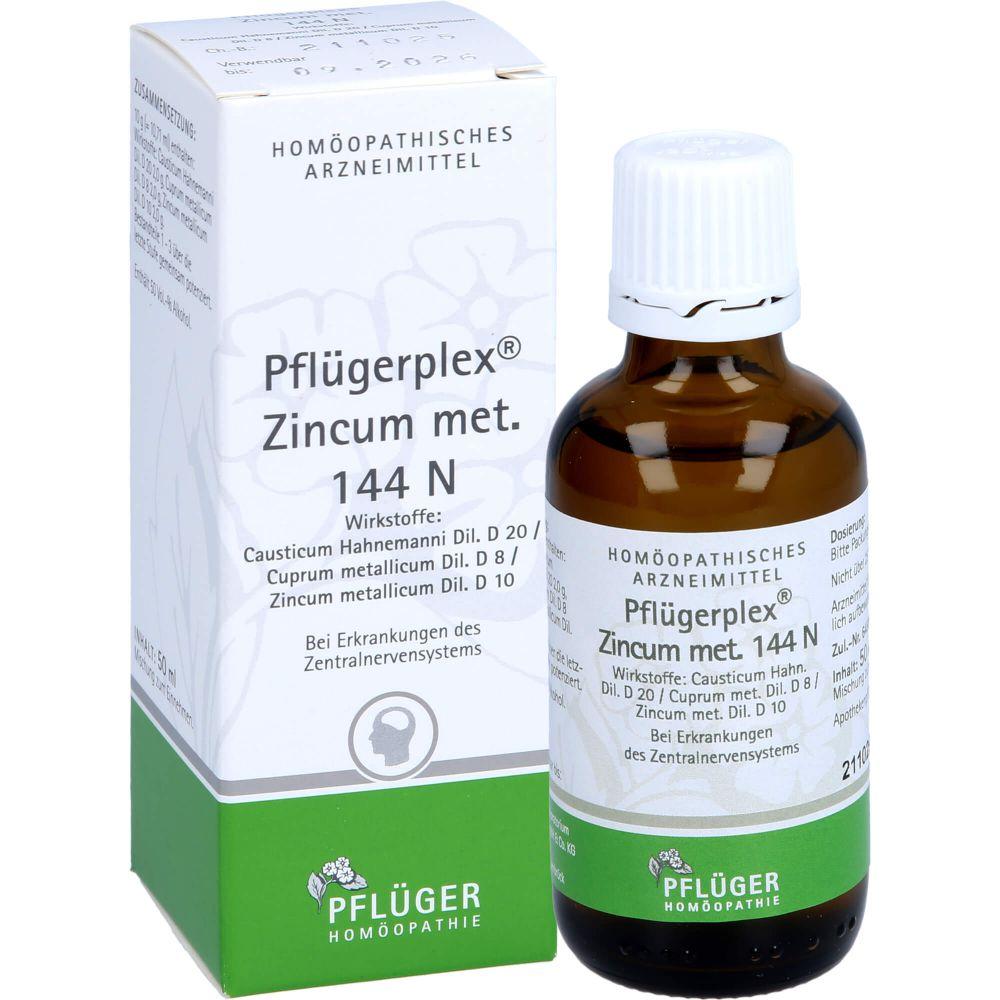 PFLÜGERPLEX Zincum met.144 N Tropfen