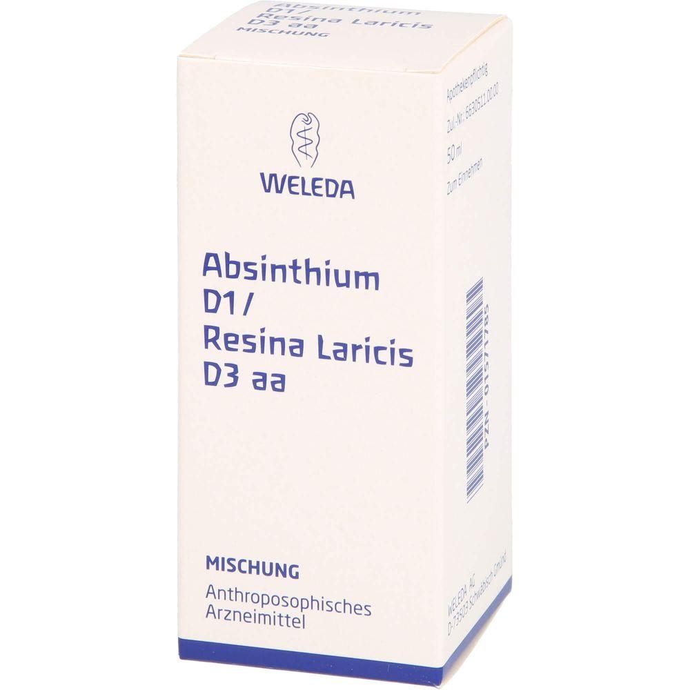ABSINTHIUM D 1 Resina Laricis D 3 aa Mischung
