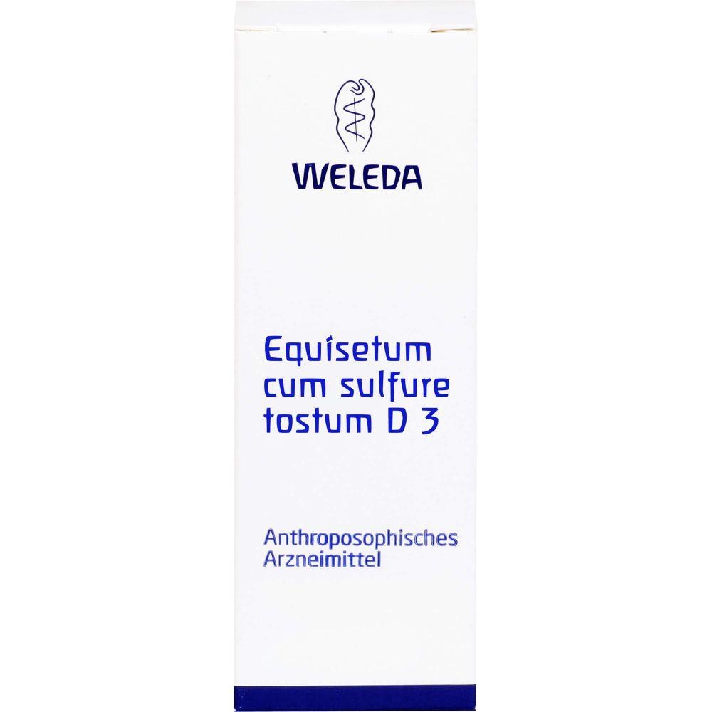 EQUISETUM CUM Sulfure tostum D 3 Trituration
