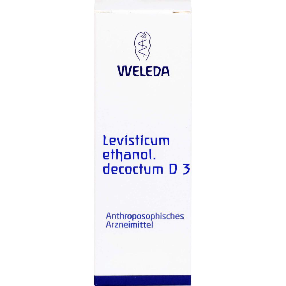 LEVISTICUM ETHANOL.Decoctum D 3 Dilution