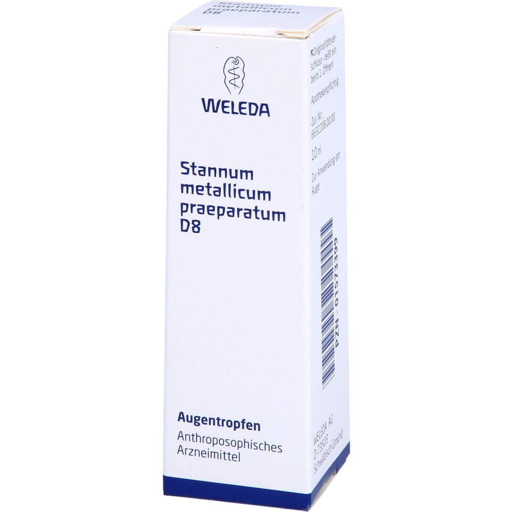 STANNUM METALLICUM praeparatum D 8 Augentropfen