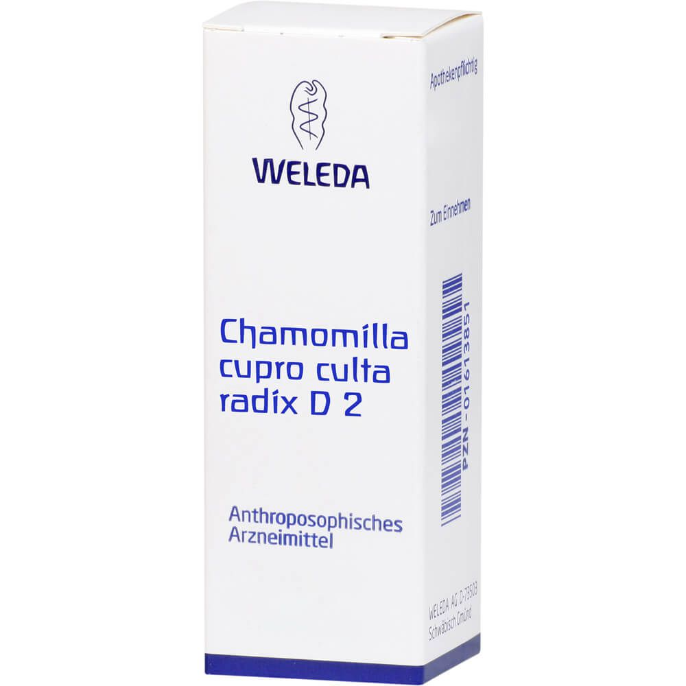 CHAMOMILLA CUPRO culta Radix D 2 Dilution