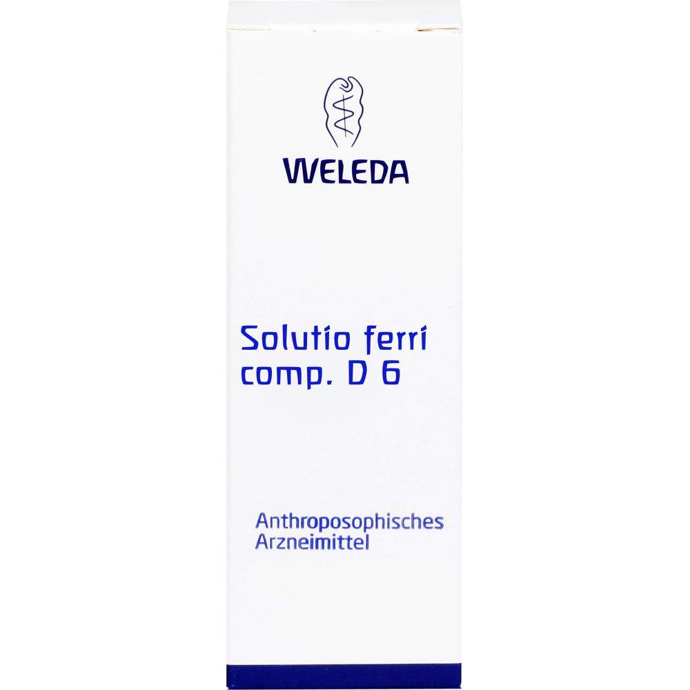 SOLUTIO FERRI comp.D 6 Dilution