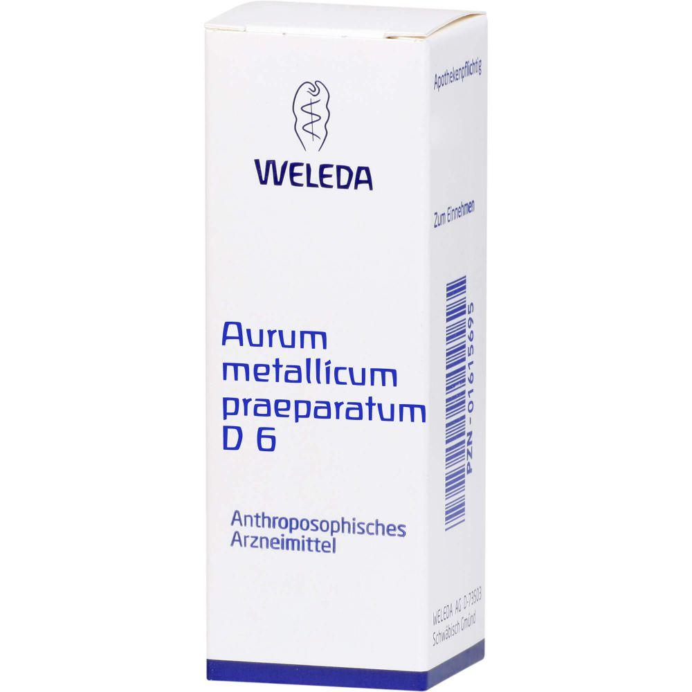 AURUM METALLICUM PRAEPARATUM D 6 Trituration