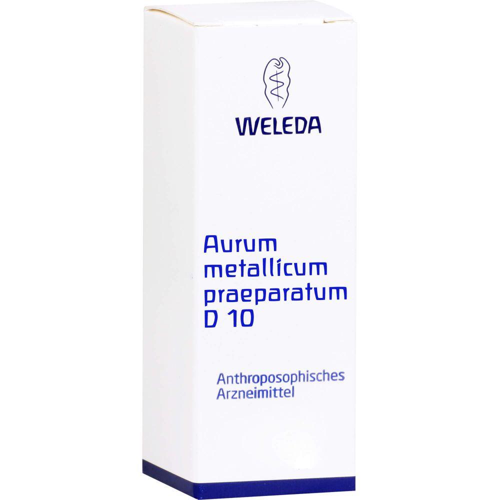 AURUM METALLICUM PRAEPARATUM D 10 Trituration