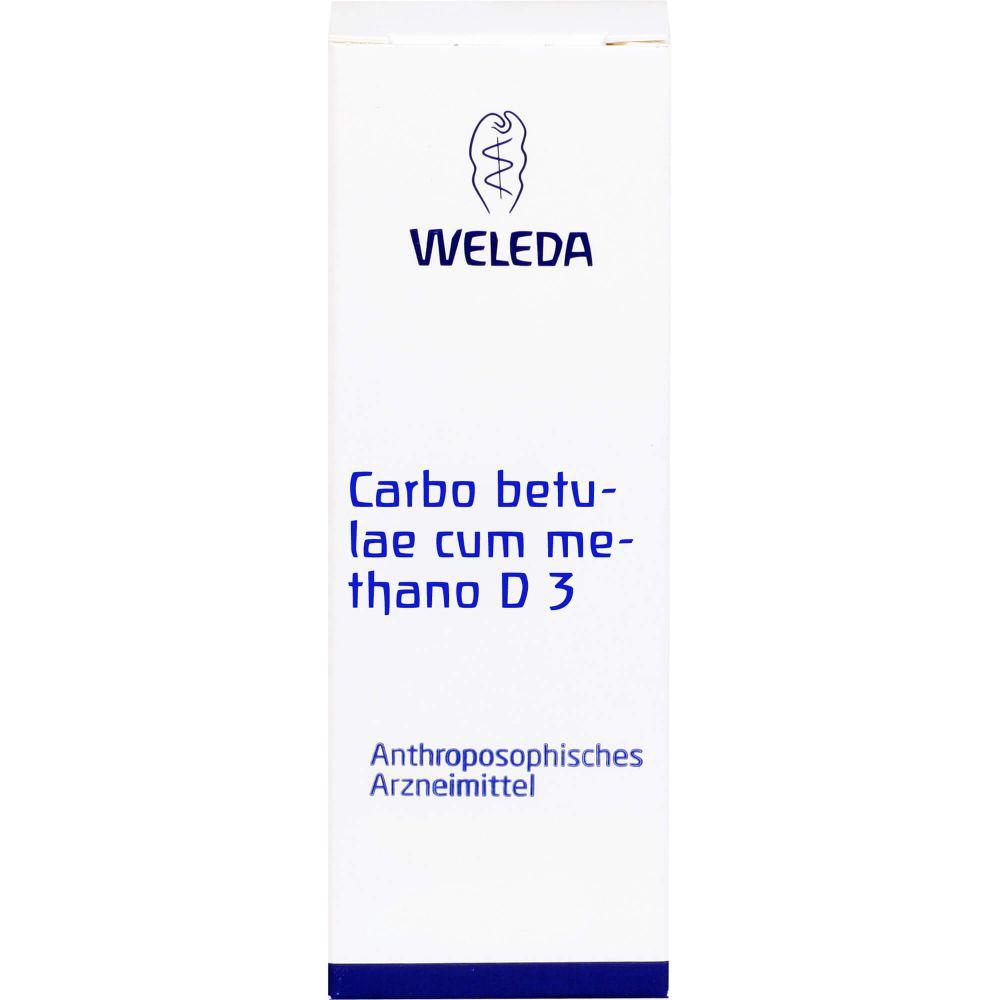 CARBO BETULAE CUM Methano D 3 Trituration