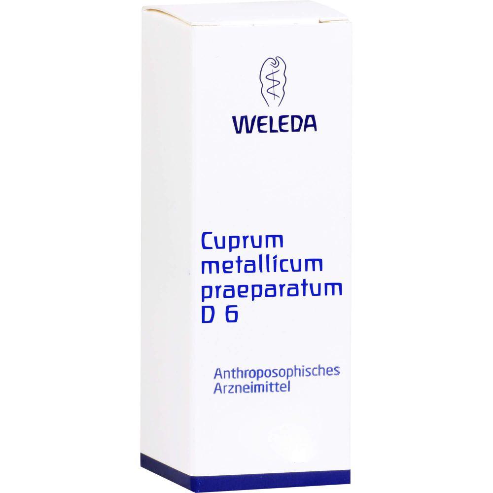 CUPRUM METALLICUM praep.D 6 Trituration
