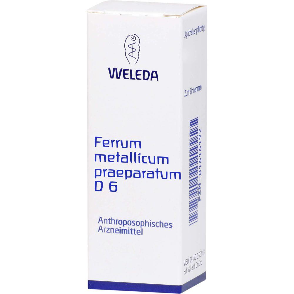 FERRUM METALLICUM PRAEPARATUM D 6 Trituration