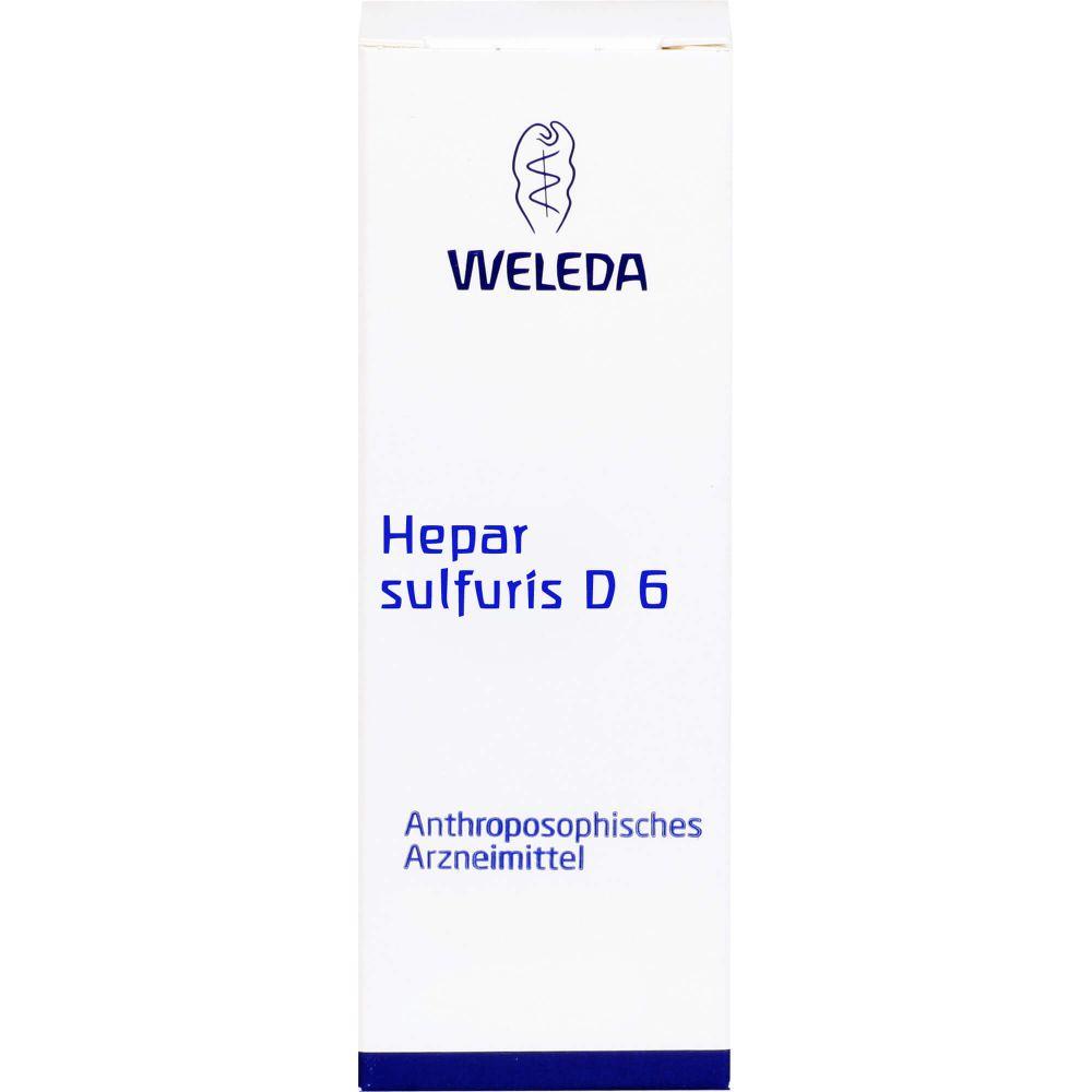HEPAR SULFURIS D 6 Trituration