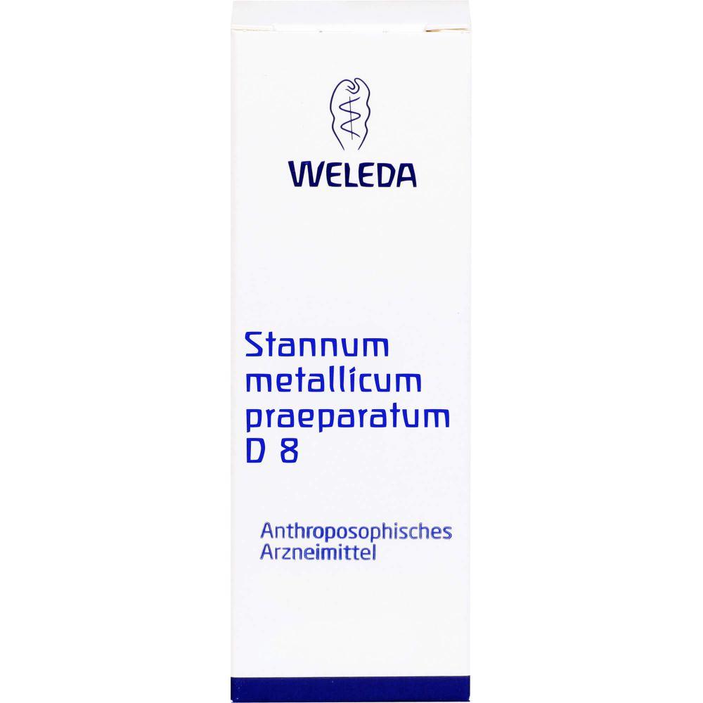 STANNUM METALLICUM praeparatum D 8 Trituration