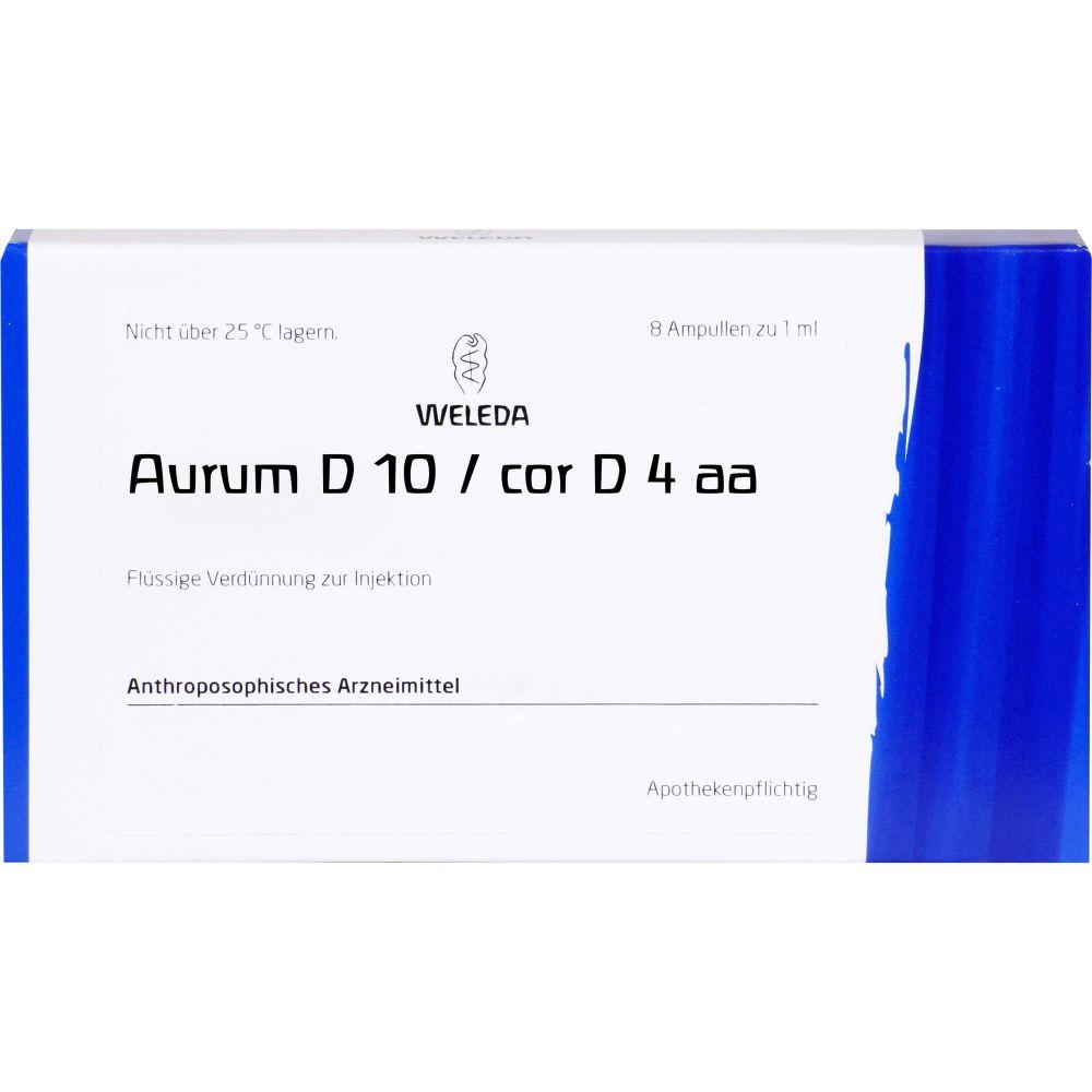 AURUM D 10/Cor D 4 aa Ampullen