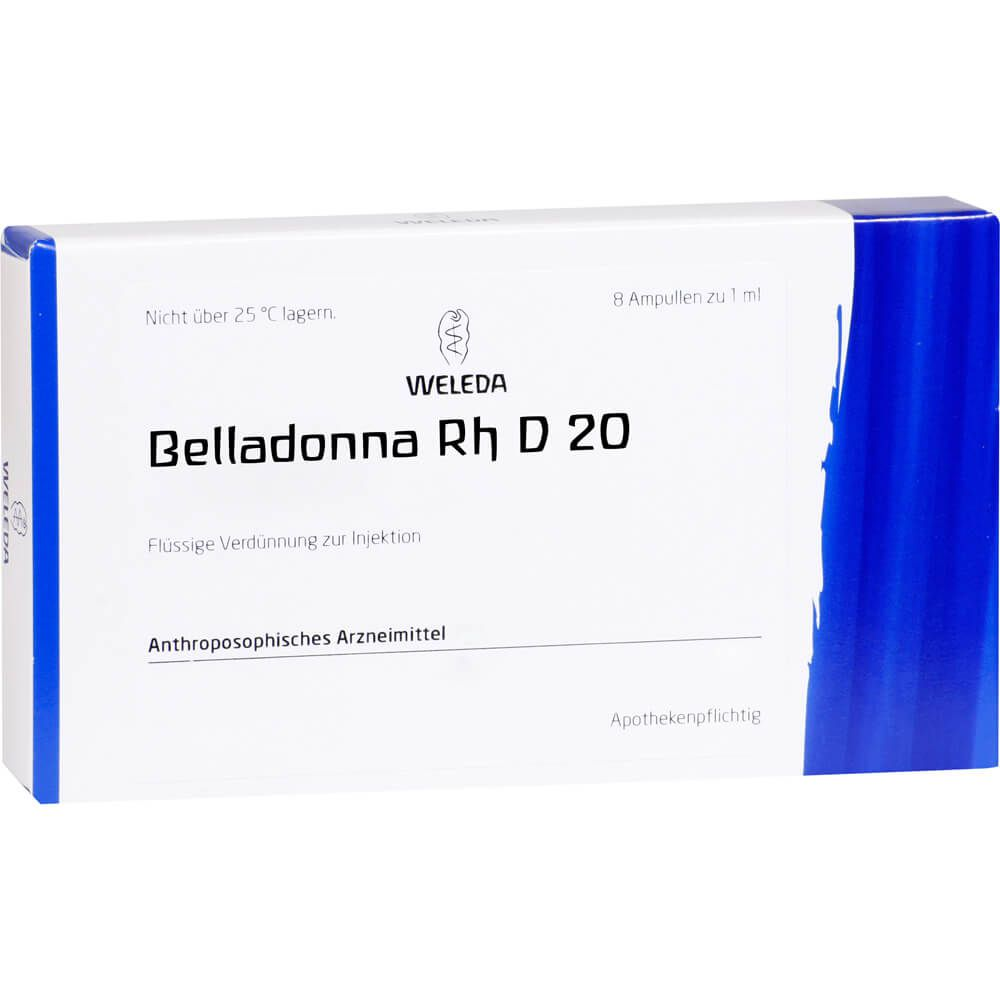 BELLADONNA RH D 20 Ampullen