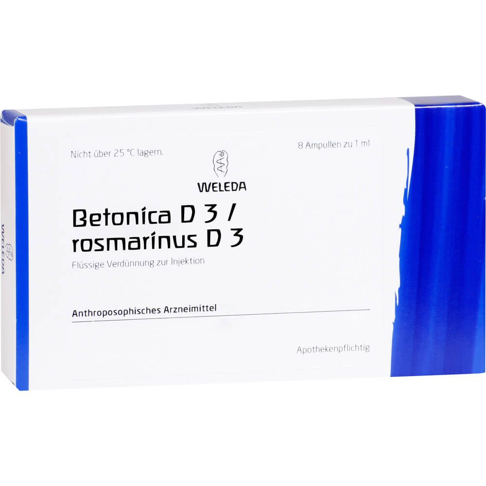 BETONICA D 3/Rosmarinus D 3 Ampullen