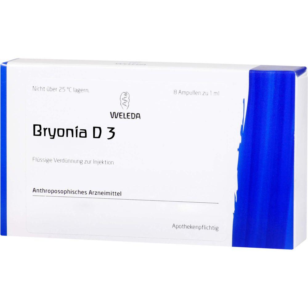 BRYONIA D 3 Ampullen