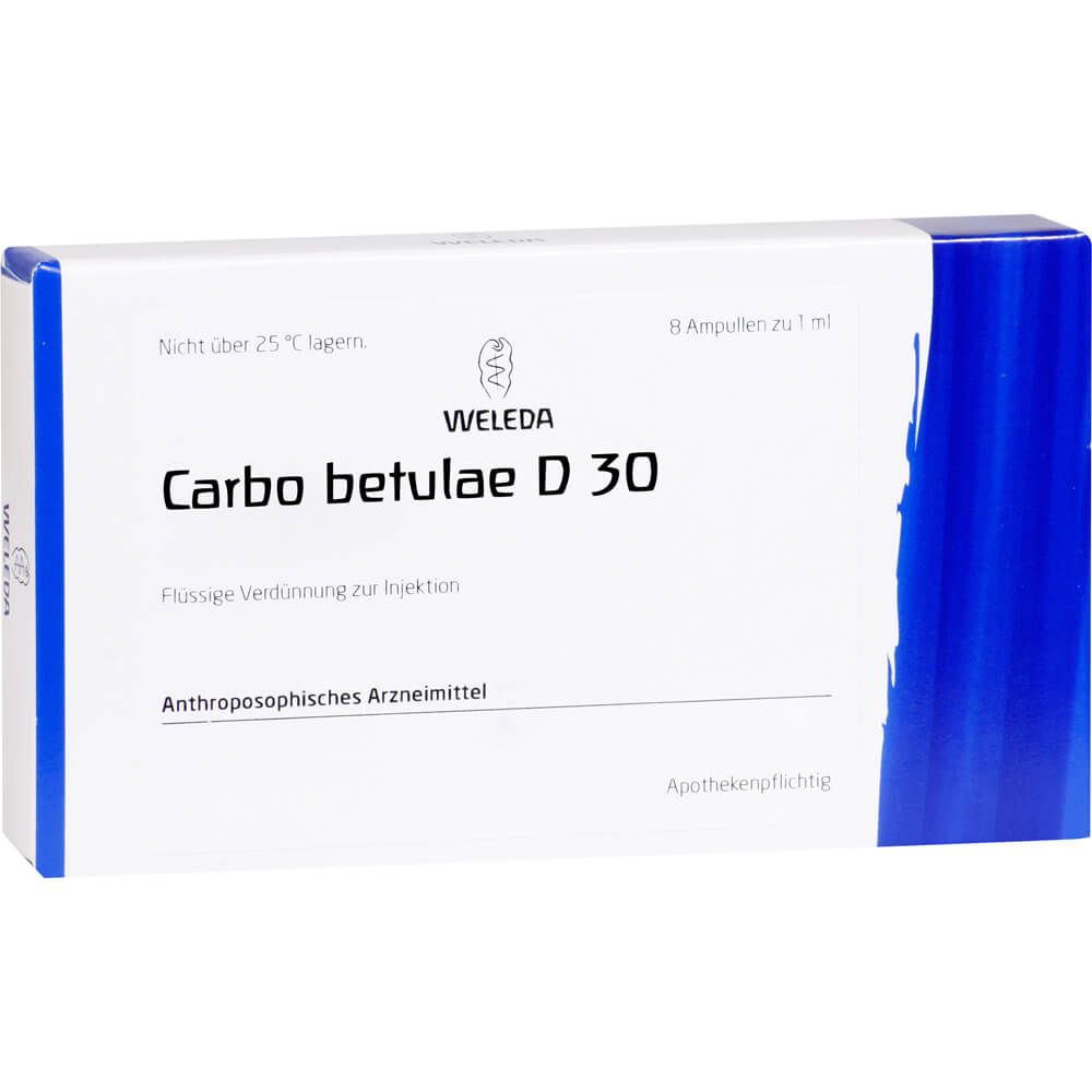 CARBO BETULAE D 30 Ampullen
