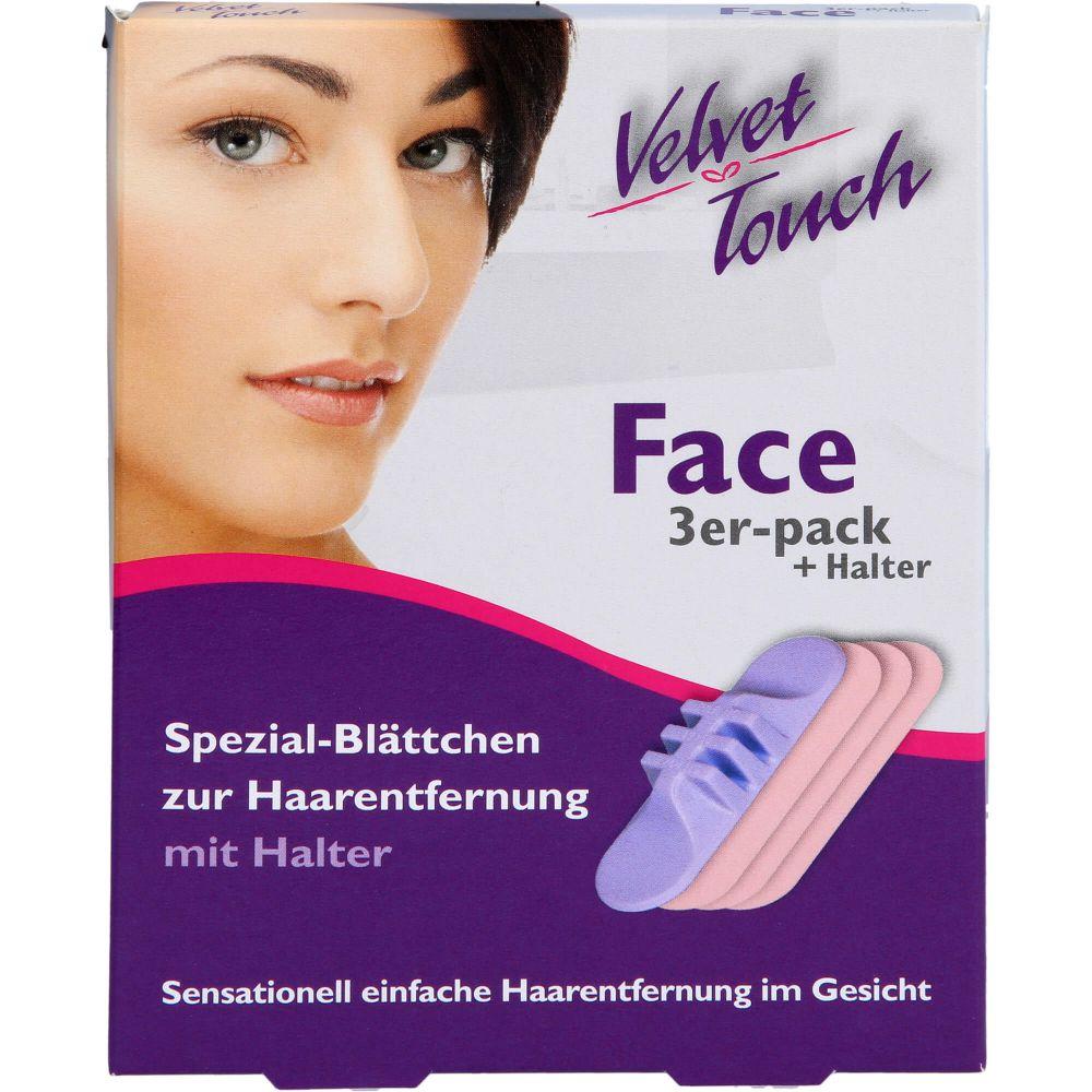 VELVET Touch Face 3er-Set