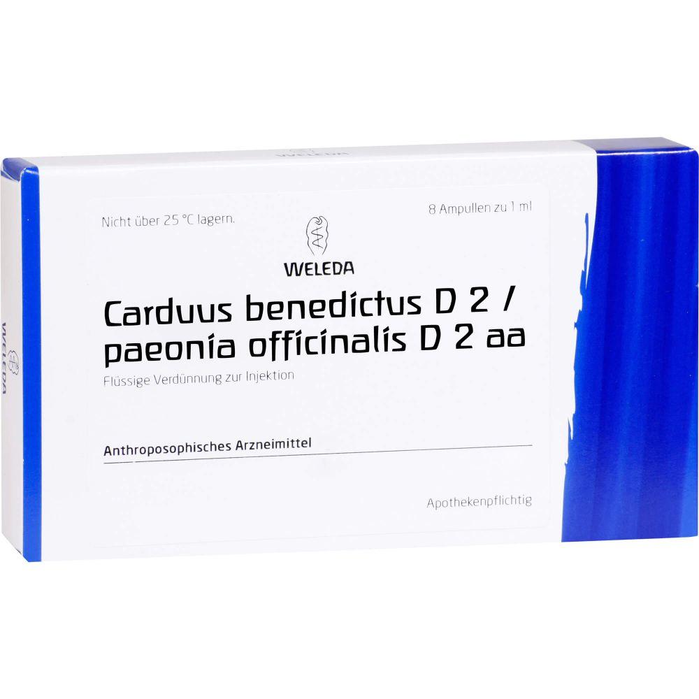 CARDUUS BENEDICTUS D 2/Paeonia offici.D 2 aa Amp.