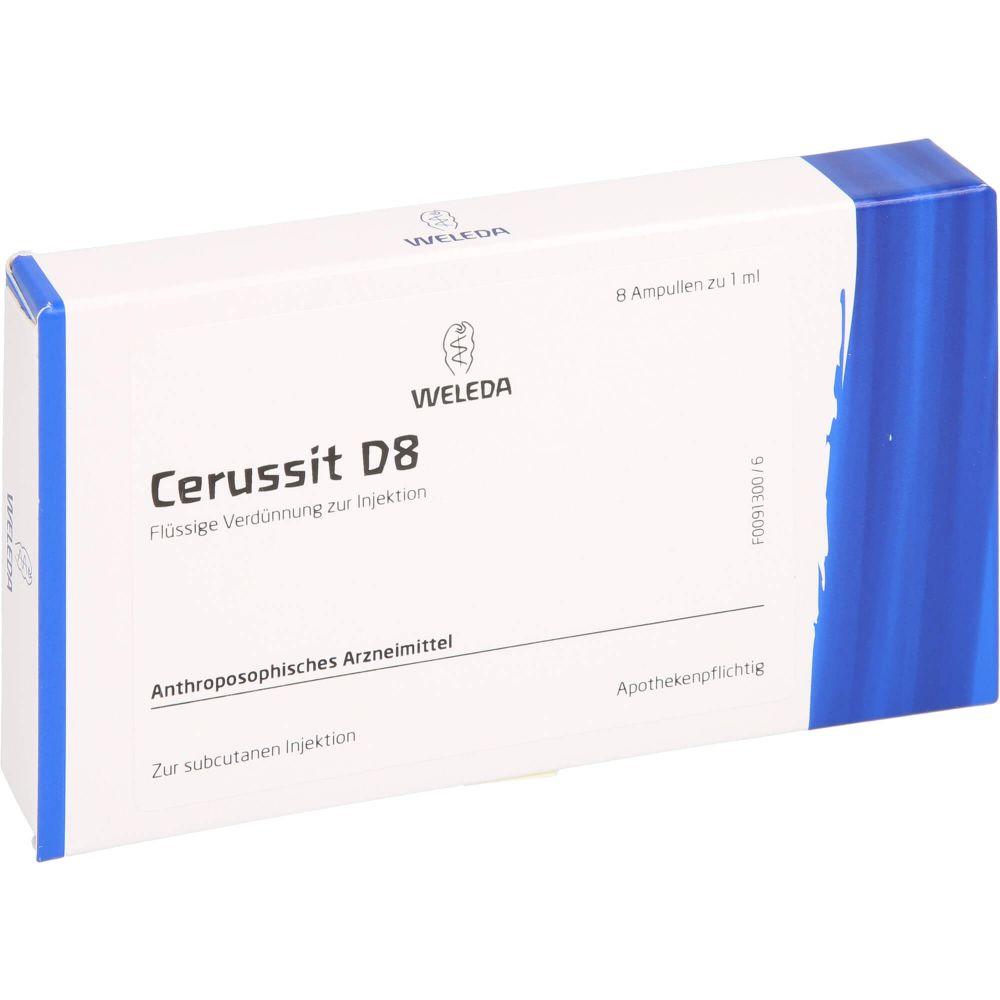 CERUSSIT D 8 Ampullen