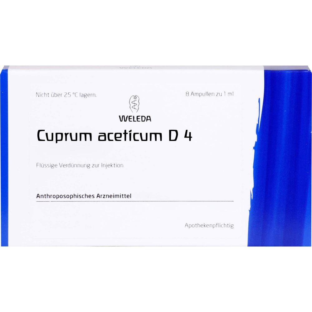CUPRUM ACETICUM D 4 Ampullen