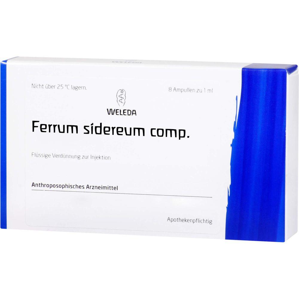 FERRUM SIDEREUM COMP.Ampullen