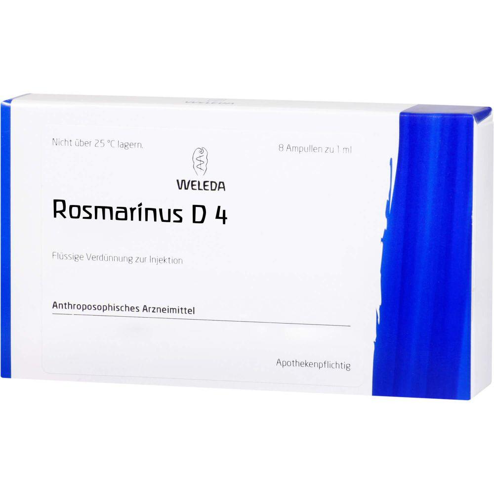 ROSMARINUS D 4 Ampullen