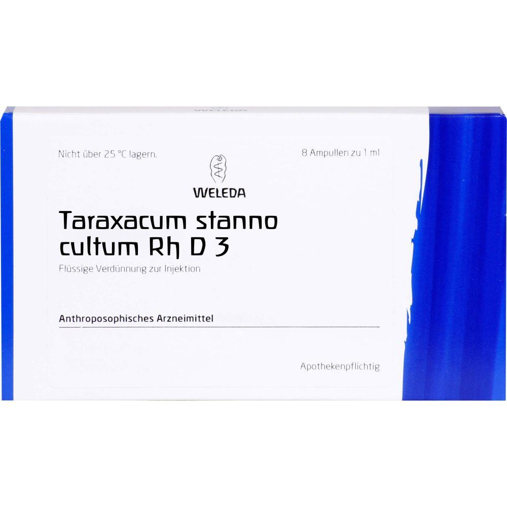 TARAXACUM STANNO cultum RH D 3 Ampullen