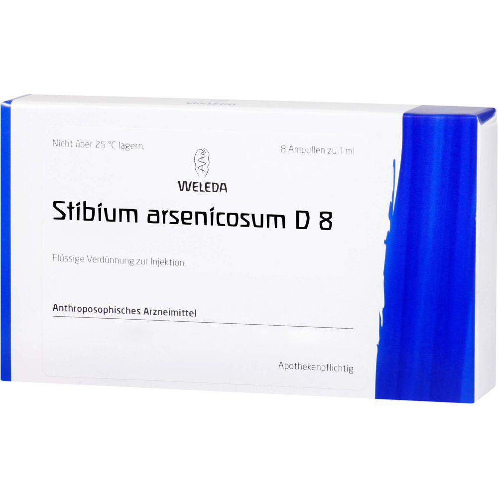 STIBIUM ARSENICOSUM D 8 Ampullen