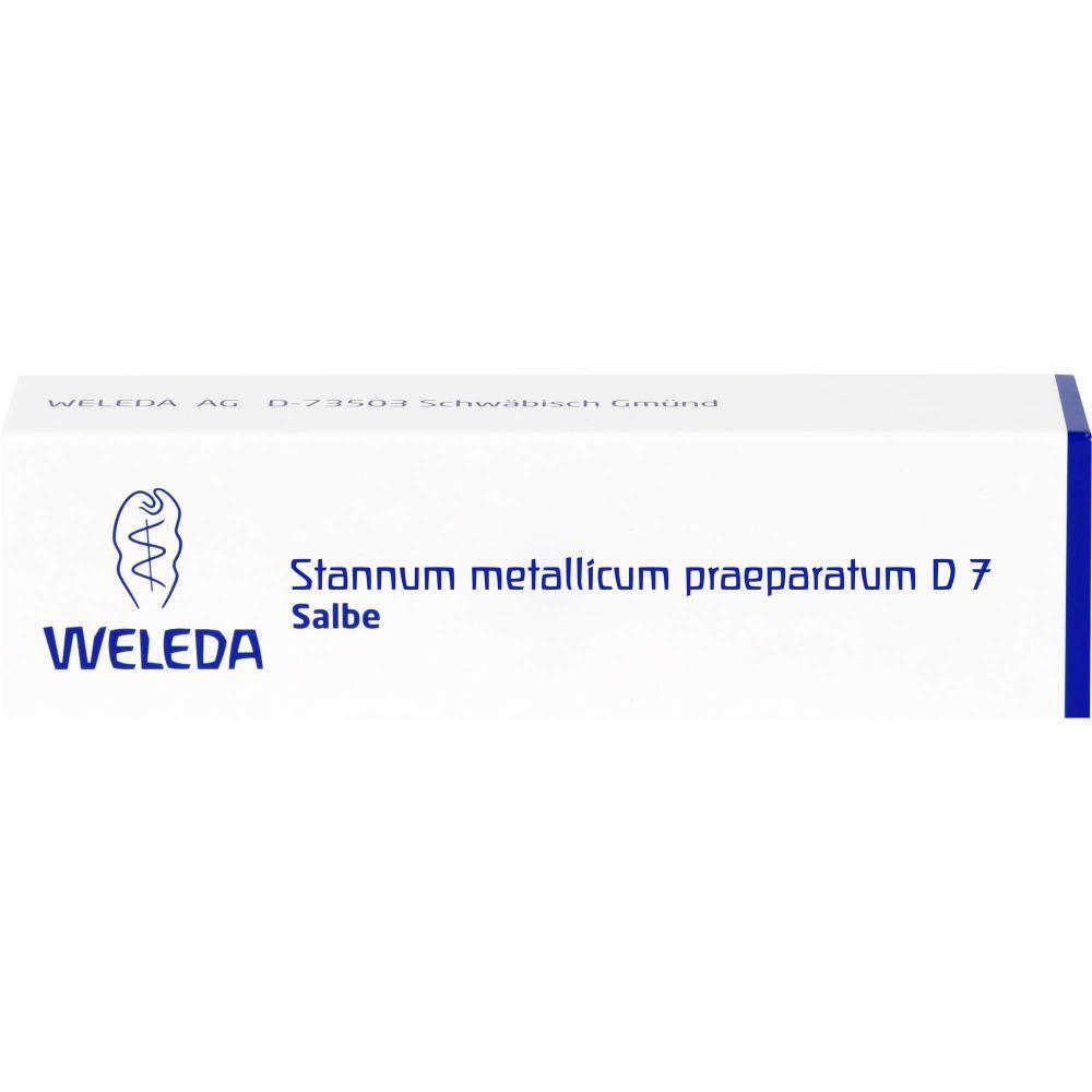 STANNUM METALLICUM praeparatum D 7 Salbe