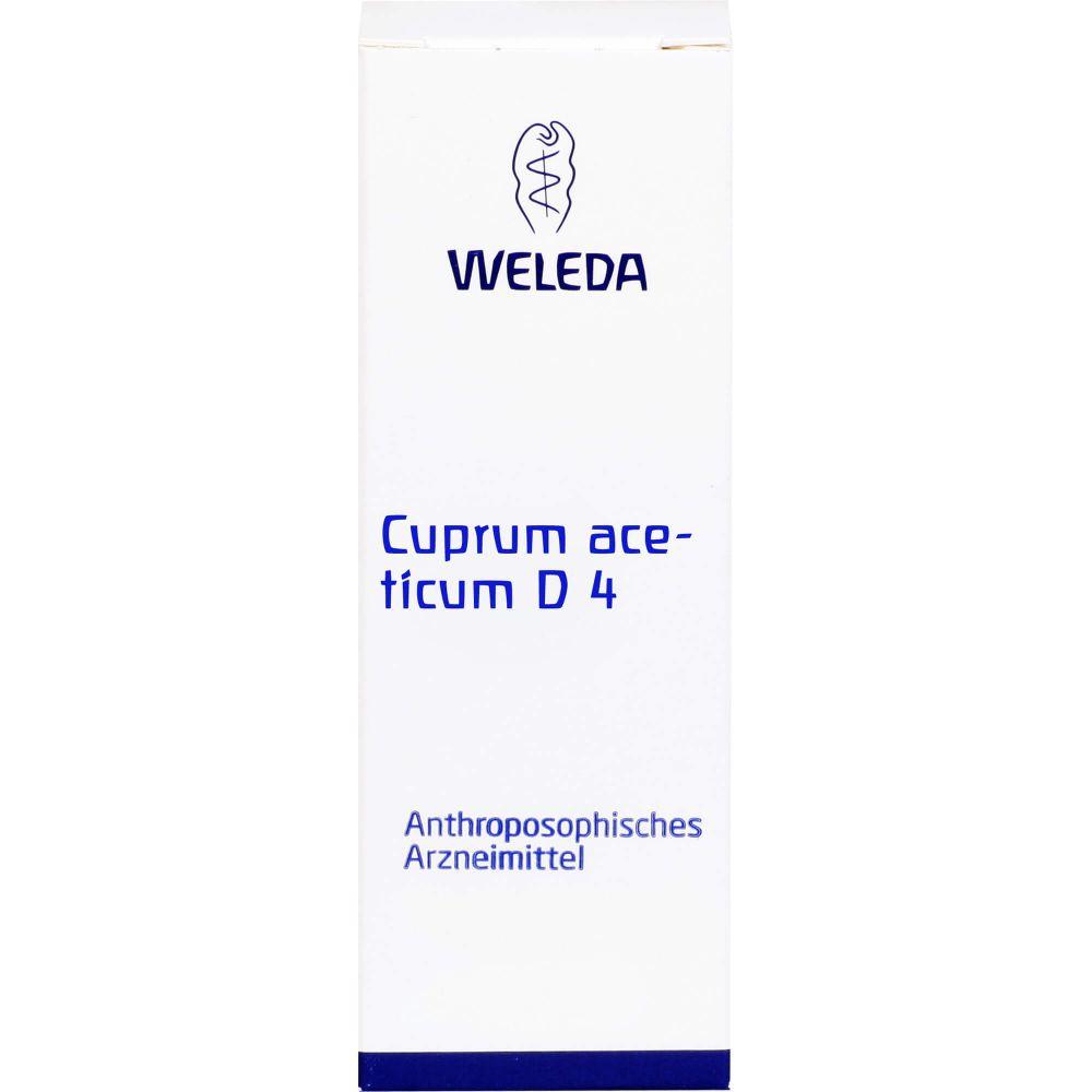 CUPRUM ACETICUM D 4 Dilution
