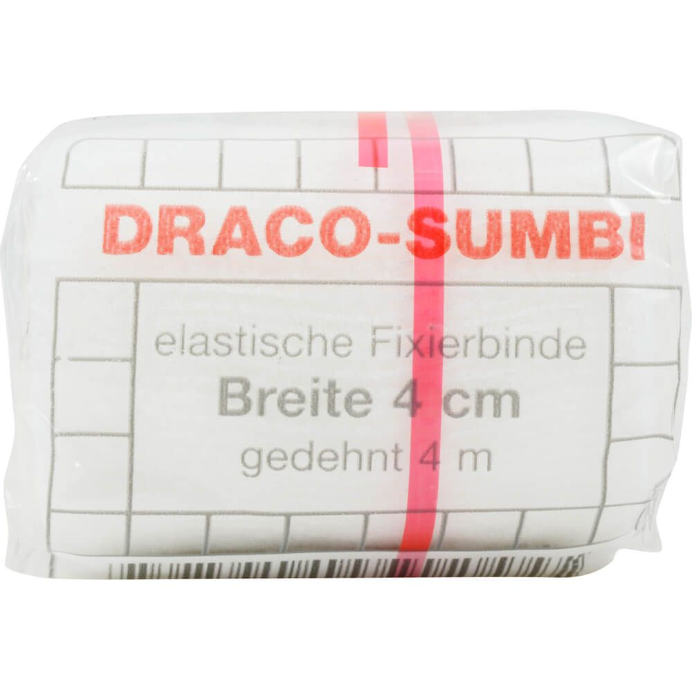 DRACOSUMBI Fixierbinde 4 cmx4 m weiß