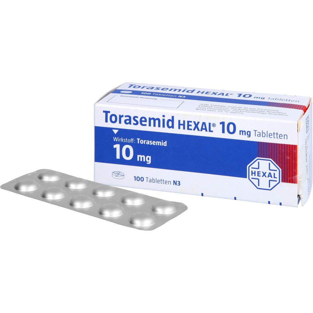 TORASEMID HEXAL 10 mg Tabletten