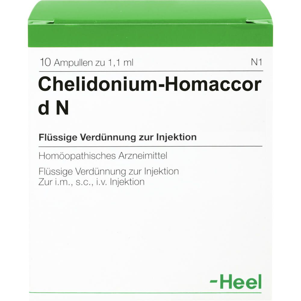 CHELIDONIUM-HOMACCORD N Ampullen