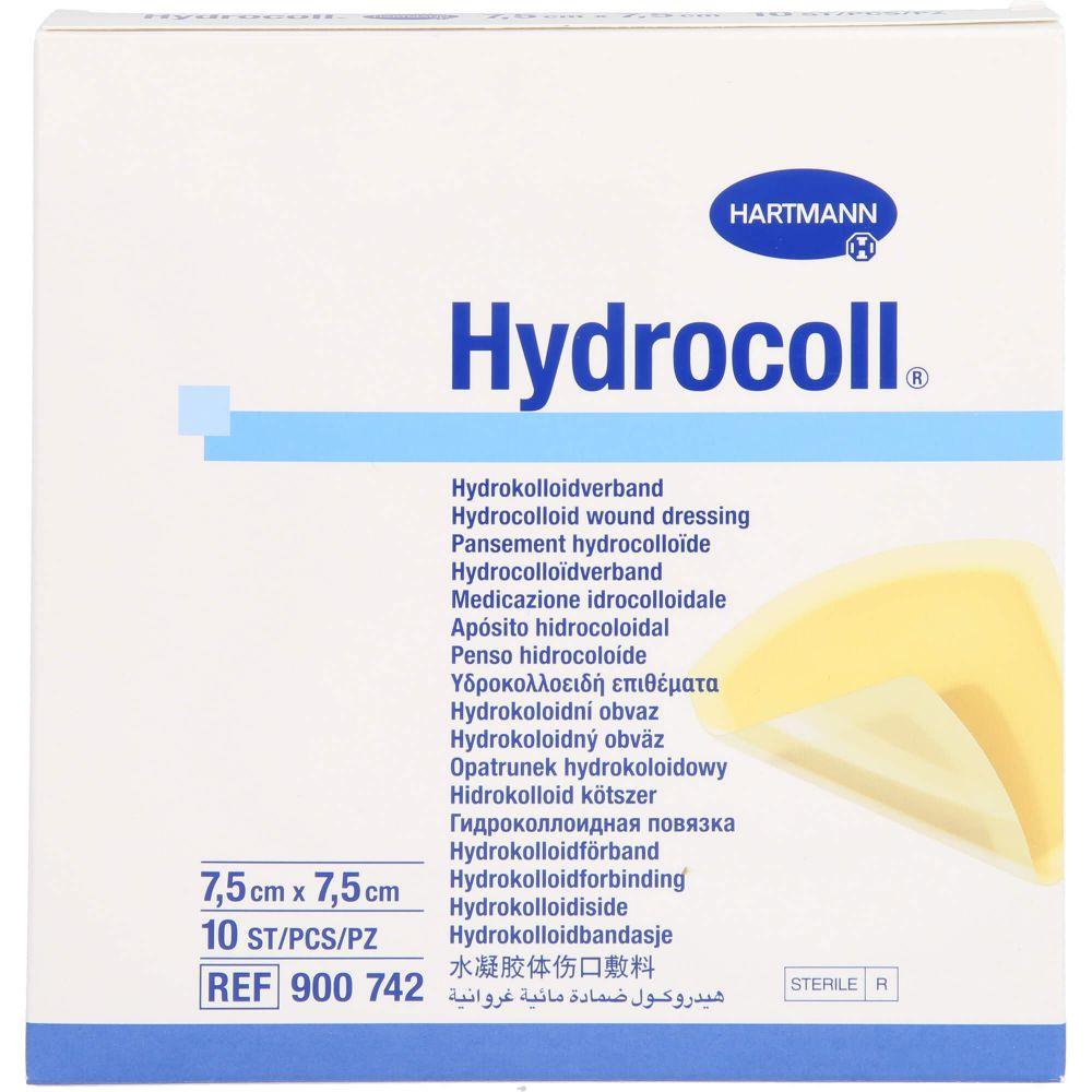 HYDROCOLL Wundverband 7,5x7,5 cm