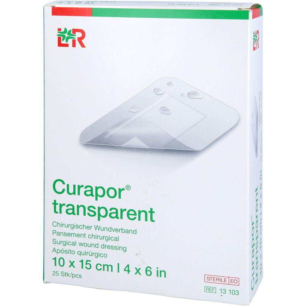 CURAPOR Wundverband steril transparent 10x15 cm