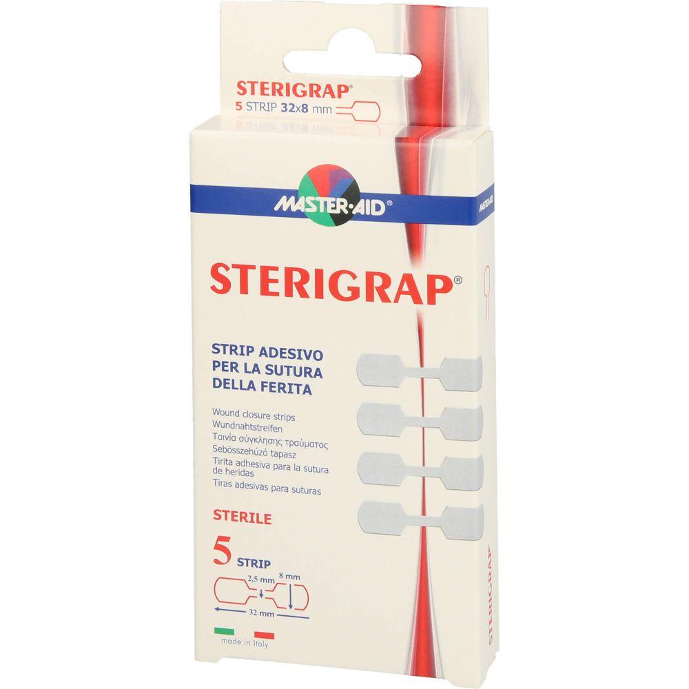 STERIGRAP Wundnahtstreifen 8x32 mm Knochenform